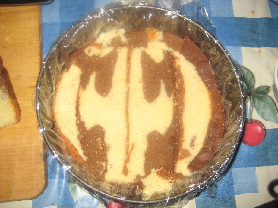 لایه اول کیک
